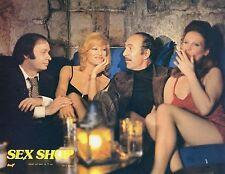 FRANCESCA ROMANA COLUZZI SEX-SHOP CLAUDE BERRI 1972 PHOTO D'EXPLOITATION N°12