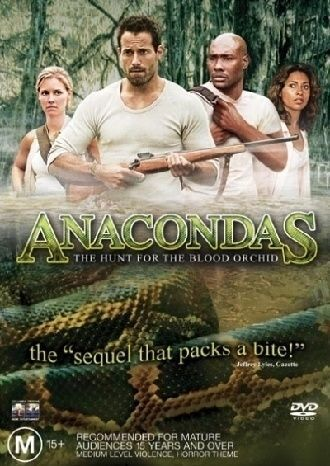 1 of 1 - Anacondas - The Hunt For The Blood Orchid (DVD, 2005) Free Post!!