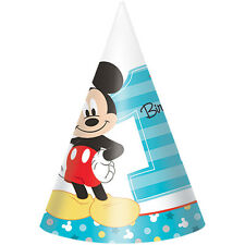 Disney mickey mouse 8pcs crayons 1ct crafts school party favors disney mickey mouse 1st birthday cone hats 8ct party favors supplies maxwellsz