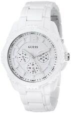 Guess U0232L6 Women's White Sport Multi-Function Wrist Watch