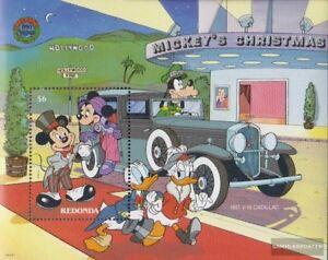 Redonda Block47 kompl.ausg. Postfrisch 1988 Walt-disney-figuren