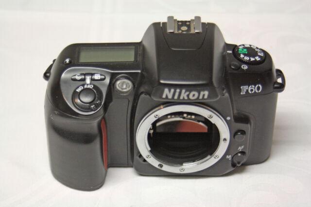 Nikon F60 35mm Spiegelreflexkamera ( nur Gehäuse )