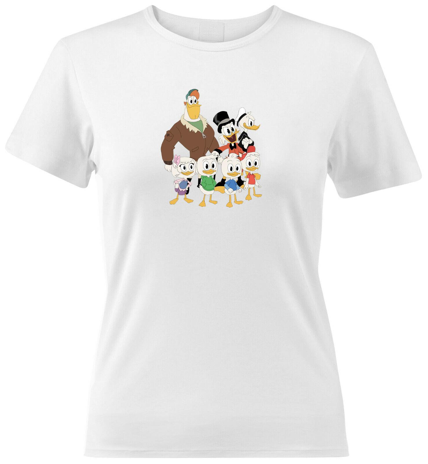 Dewey /& Louie Women Junior Girl V-Neck Short Sleeve Top Tee T-Shirt Details about  /Huey