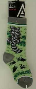 Ladies-Racoon-Novelty-Socks-SK533