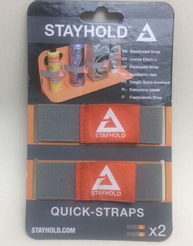 STAYHOLD Correas rápida x4 Gris Para Coche Arranque Organizador de retención de estancia ordenado SH006 2 Par