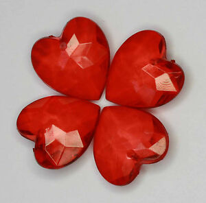 Acrylic-Transparent-Faceted-Heart-shape-Beads-18x18mm-2-different-Col-13