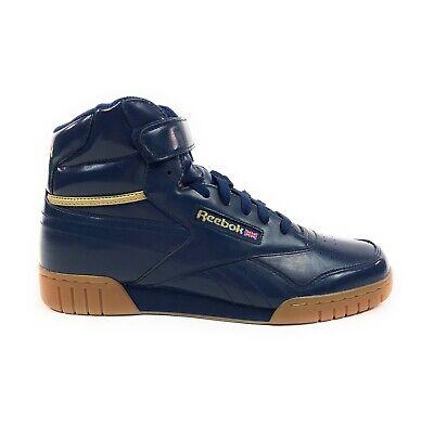 Reebok Exofit Plus Hi Se Homme Baltic Blue Gold Chaussures