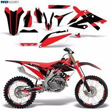 Decals Graphic Kit Honda 250/450R Dirt Bike Stickers CRF250 10-13 CRF450 09-12 M