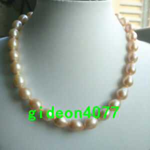 18-034-AAA-13X11MM-SOUTH-SEA-NATURAL-GOLD-PINK-PEARL-NECKLACE-14K-CLASP