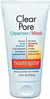 Neutrogena Clear Pore Cleanser/Mask, 4.2 Fluid Ounce 125 ml (070501060001) Personal Care on Sale