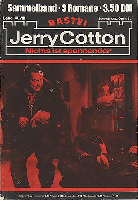 Jerry Cotton Sammelband XLVIII - 3 Einzelbände