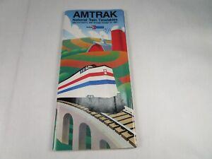 Vintage-Original-Amtrak-National-Tain-Timetables-4-5-1987-through-10-24-1987