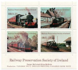 I-B-Ireland-Cinderella-Railway-Preservation-Society-Mini-Sheet-1-23