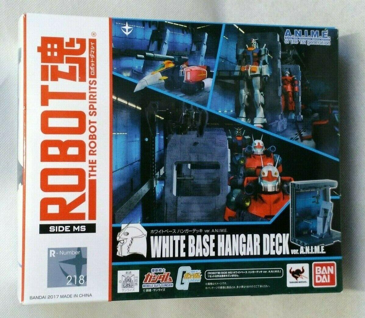 Robot Spirits  Mobile Gundam Côté Ms Base Blanche Cintre Pont Ver. A. N. I. M.E  À ne pas manquer!