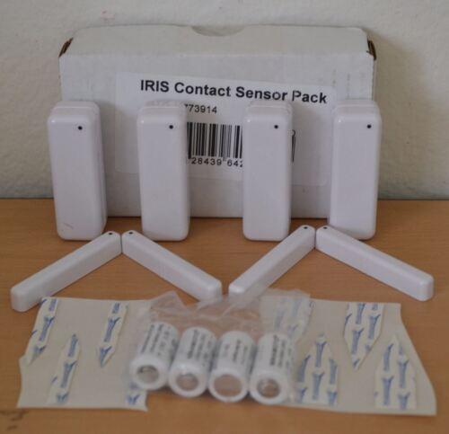 8 Pack New  1st gen Iris Contact Sensor w// Battery door Window Lower Wireless