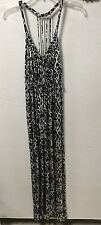 Women's extreme racer back dress WET SEAL size XS black gray sexy 137
