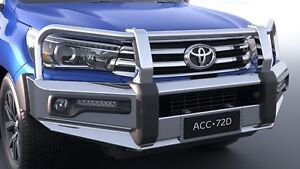 GENUINE-TOYOTA-HILUX-SR5-JUL15-gt-ALLOY-BULL-BAR-FOG-LAMP-COMPATIBLE-HIGH-STRENGTH