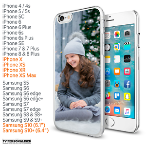 Personalised Your Photo Custom Picture Image Phone Case Cover For Iphone Samsung Ebay