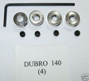 4 140 Dubro Dura-Collars 5//32