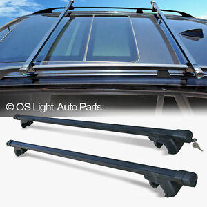 vw passat jetta wagon roof rack carrier crossbars set top. Black Bedroom Furniture Sets. Home Design Ideas