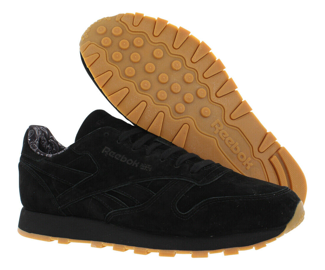 Zapatos De Cuero Reebok Cl TDC informal Para hombres