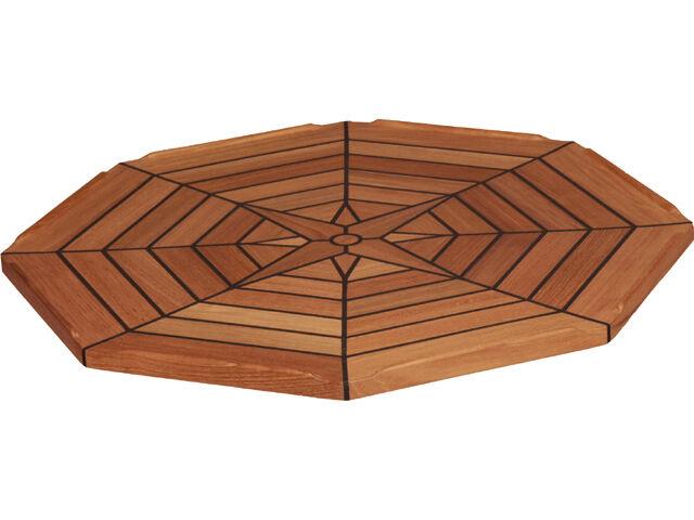 HUD 55cm Teak tablero de mesa ocho cuadrada  mesa plegable mesa barco barco comerciante de mesa  oferta especial
