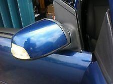 Ford Focus MK2 Encre Bleu Droit Drivers Side Door Wing Mirror Cover Cap boîtier cc
