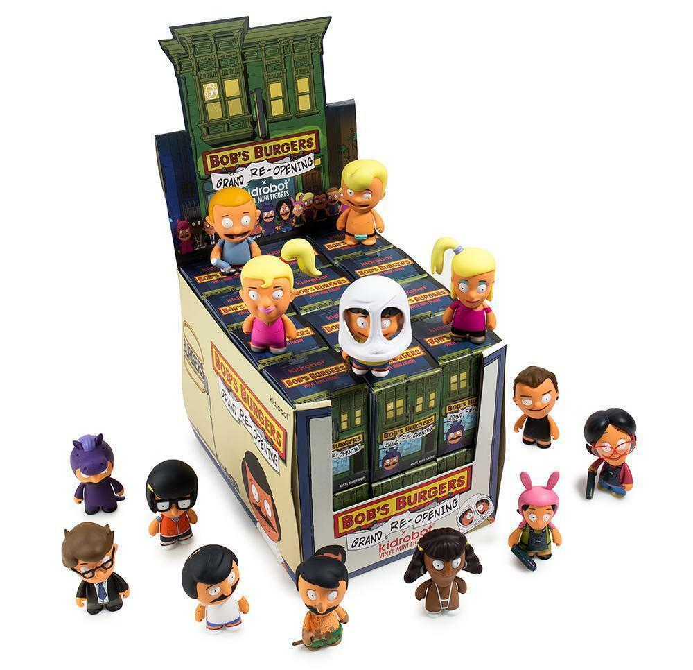 Bob's Burgers Grand Re-Opening Blind Box Mini Series  by Kidrobot