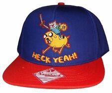 "Adventure Time with Finn & Jake ""HECK YEAH!"" Snapback Baseball Cap Hat"