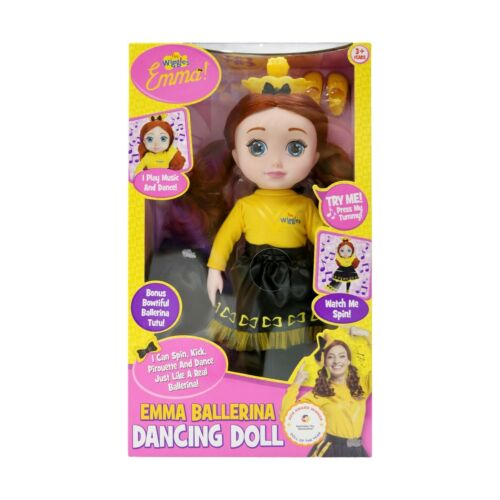 The Wiggles Emma Ballerina Dancing Doll Spin Kick Kids Birthday Christmas Gift