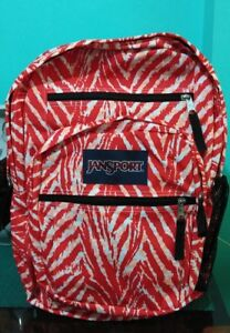 SALE-100-Authentic-JanSport-Big-Student-in-Coral-Peaches-Wild-at-Heart
