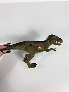 Jurassic Park III Action Figure 2000 Hasbro Electronic T-Rex reak Atak Dinosaure