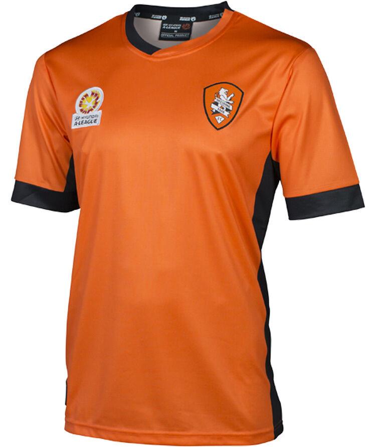 HAL Brisbane Roar FC 2016/17 Team Replica Jersey Sizes M - - M 2XL  **SALE PRICE** 42b57e