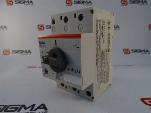 SIEMENS 3RV2011-1KA10 SIRIUS MANUAL MOTOR STARTER 600V 12.5FLA 163AMP NICE USED