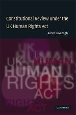 Constitutional Review under the UK Human Rights Act (Law in Context)