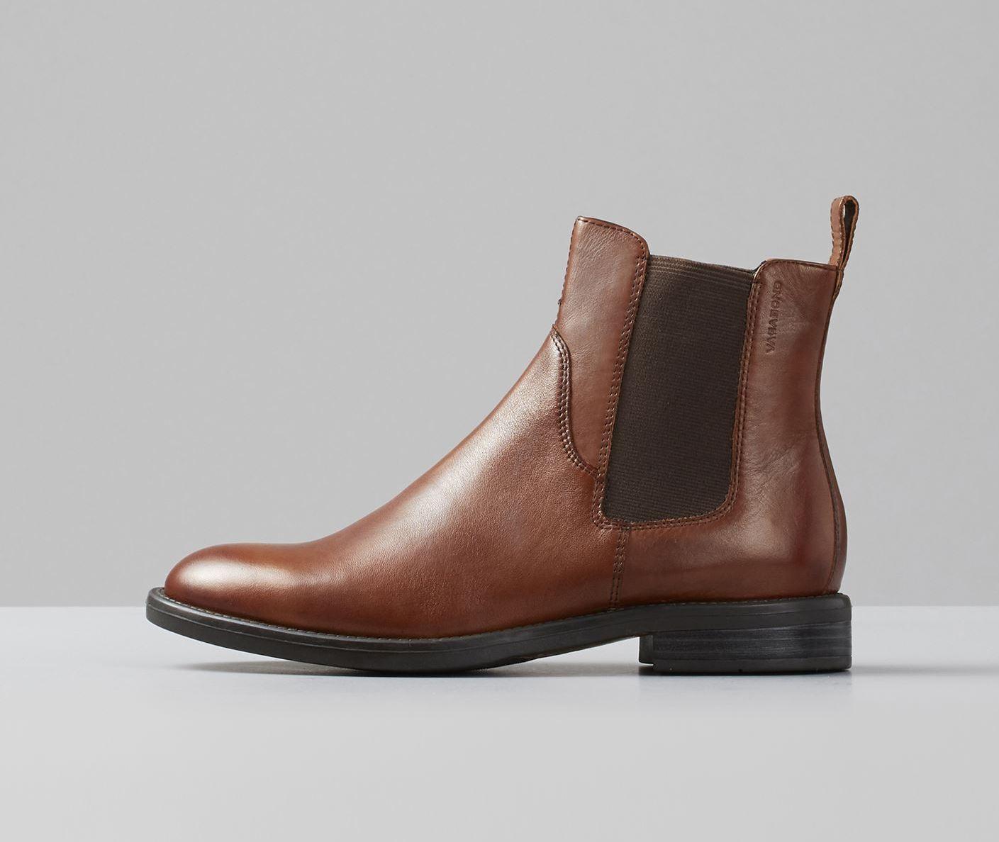 Vagabond Schuh AMINA 4203-801 braun Chelsea Stiefel Echtleder Ankle-Stiefel NEU SALE