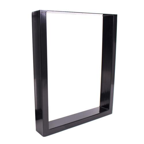 Tischgestell schwarz TU100s-500 breit Tischuntergestell Tischkufe Kufengestell