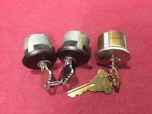 "Unknown Brand, Schlage SC1 Keyway 1"" Mortise Cylinders, Set of 3 - Locksmith"