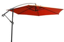 Ampelschirm Sonnenschirm Alu LED 300 cm Marktschirm Design Schirm Gartenschirm
