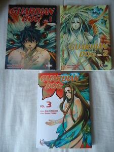 NEUF-LOT-Guardian-Dog-tomes-1-2-3-EO-Akira-Shirakawa-Fukaki-ki-oon-MANGA