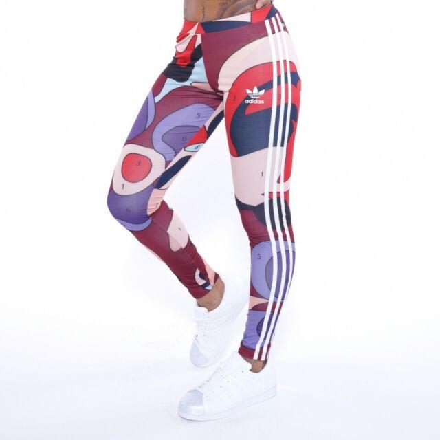 adidas originals rita ora 3 stripe cut leggings