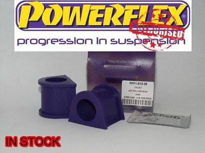 PFF1-810-26BLK Powerflex Front Anti Roll Bar Bushes 26mm BLACK Series 2 in Box
