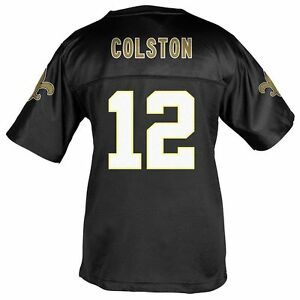 1a6e7004 Details about ($50) *GIRLS* New Orleans Saints MARQUES COLSTON nfl Jersey  Youth *GIRLS* (xl)
