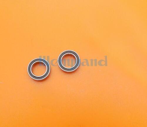 10 MR148-2RS 8x14x4mm P6 ABEC3 Deep Groove Ball Miniature Bearing  Black
