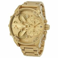 b80b5563d458 Diesel DZ7399 Mr Daddy 2.0 Gold Stainless Steel Chrono Watch 57mm ...