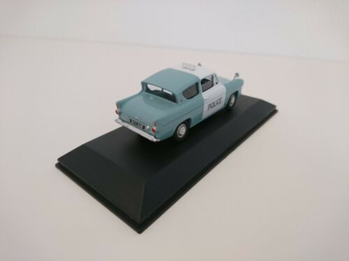 FORD ANGLIA Voiture de police anglaise 1//43 ATLAS CORGI DIECAST MODEL CAR U3