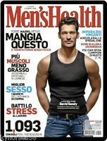 Men Health Cover David Gandy Refrigerator Magnet