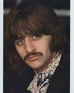 RINGO-STARR-SIGNED-AUTOGRAPHED-COLOR-8x10-PHOTO-BAS-BECKETT-THE-BEATLES-FAB-4
