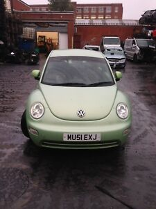 2002-VW-BEETLE-1-X-WHEEL-NUT-FULL-CAR-FOR-SPARES-PARTS-BREAKING-VARIOUS-COLOURS