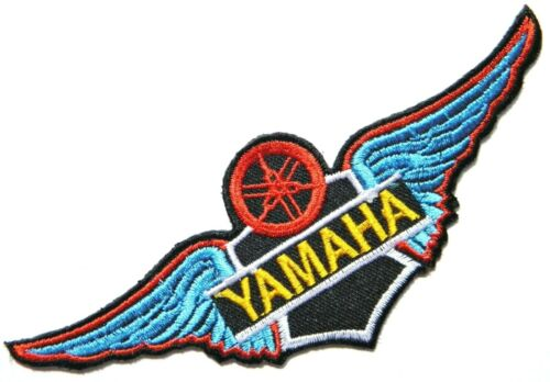 Patch Iron on YAMAHA Motorcycle Racing T shirt Jacket Cap Hoodie Badge Emblem